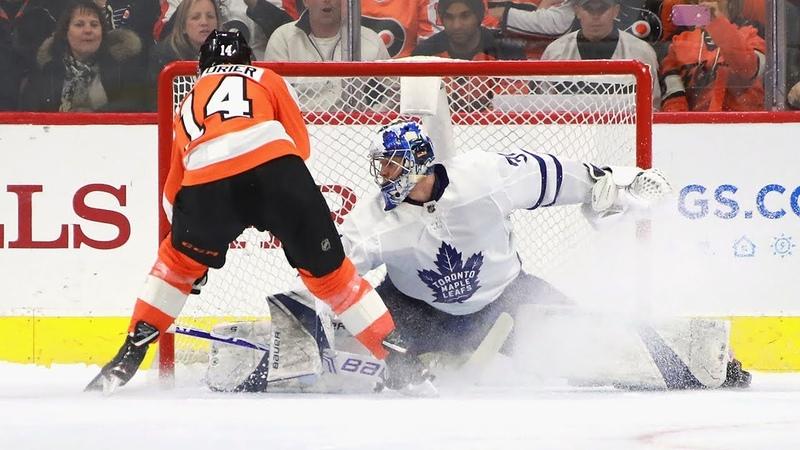 Maple Leafs Flyers settle it in a shootout