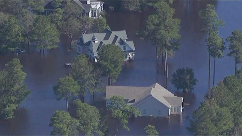 Наводнения, торнадо и затопленные дороги: в США 37 человек погибли от урагана «Флоренс»