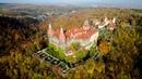 Największy zamek Dolnego Śląska Książ z drona
