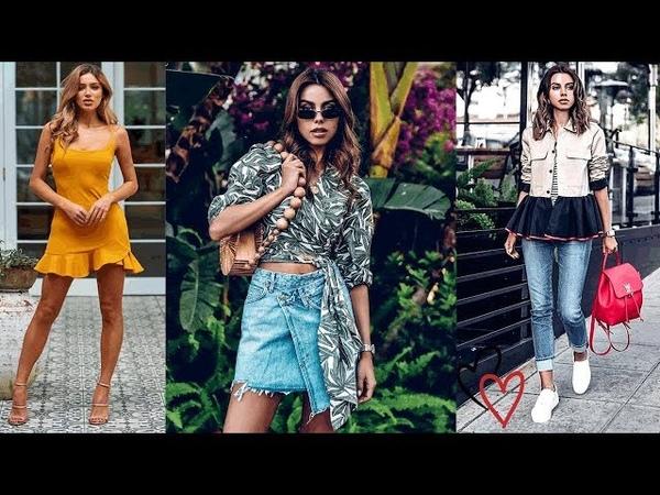 Looks Para Primavera-Verano Tendencias 2019 🙌