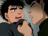 Первый шаг Hajime no Ippo 1 серия