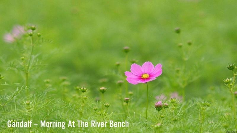 Gandalf – Morning At The River Bench