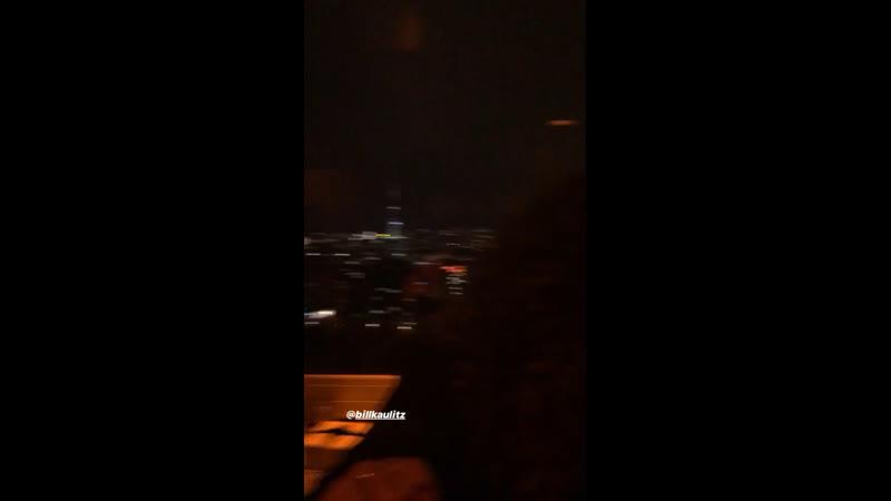12.04.2019 - Билл на званом ужине Armani Exchange, Solar Sky Bar, Берлин (Германия)