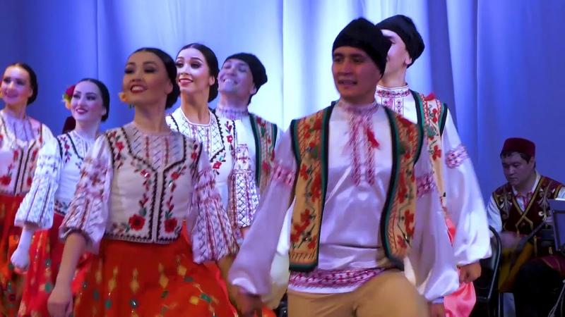 Букурия - молдавский танец (24 мая 2018 г)