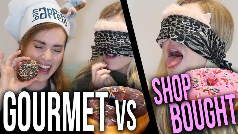 Blindfolded Donut Challenge