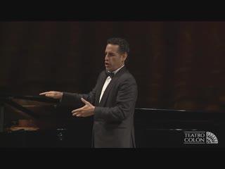 Juan Diego Flórez-  Recital Teatro Colón - 26.09.2018