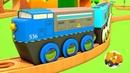 Trenes infantiles Videos de trenes con Coches Inteligentes 4 episodios
