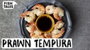 Fried PRAWN Shrimp TEMPURA Recipe Bart van Olphen