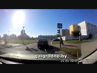 В Гродно мужчина не поделил дорогу с буксировочным троссом [ПОДСЛУШАНО КОБРИН]