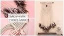 How To Make A Macrame Wall Hanging Dreamcatcher With Feathers Tutorial