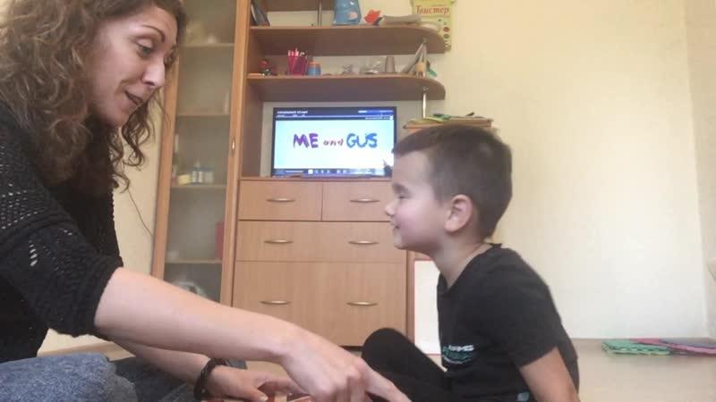 Данил ( 4 года) говорит по-английски_ Развитие на английском с Еленой Бакулевой