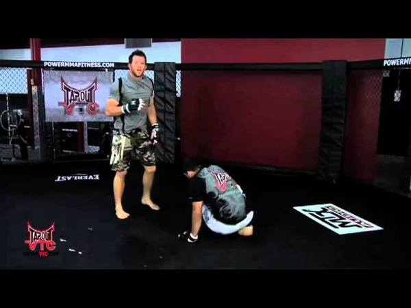 Wrestling Training Double Leg Takedown with Ryan Bader