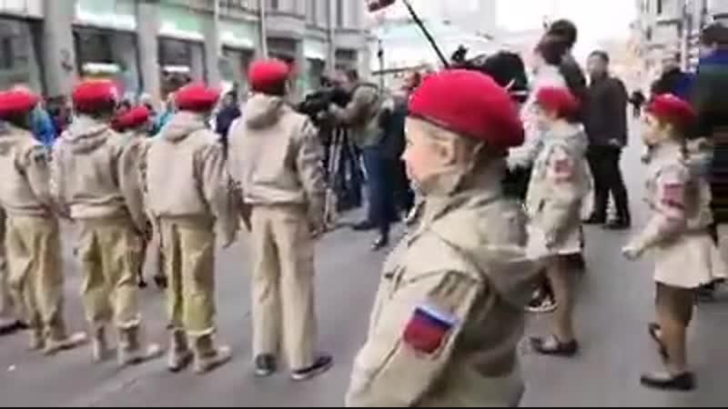 21 октября на Арбате. И трёх дней после керченского теракта не прошло.