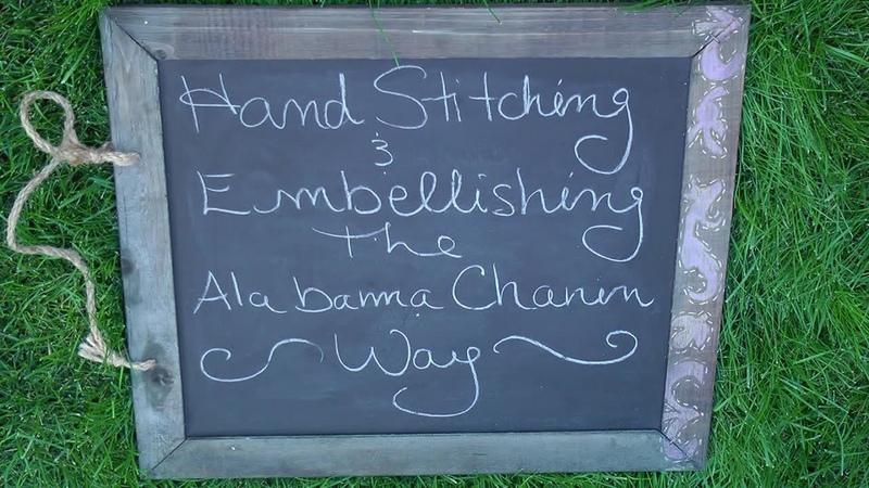 Hand Stitching and Embellishing the Alabama Chanin Way