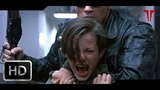 Terminator 2 Judgment Day (1991) T-800 Vs T-1000 Galleria Fight Scene HD