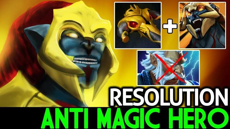 Resolution [Huskar] Anti Magic Hero Imba Raid Boss 7.19 Dota 2