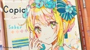 【中野澪】Copic 「Artoria Saber」 Fate Fate/staynight アルトリア《コピック》