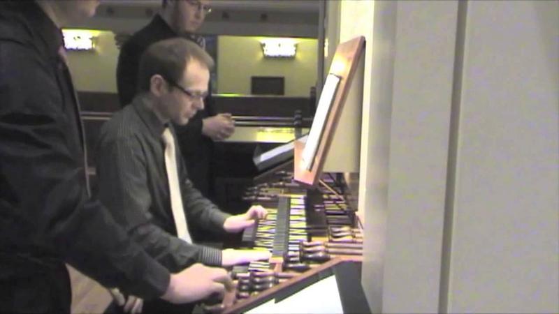 Egil Hovland: Elementa pro Organo (Lars Gjerde, organist; Scott Perkins and Aaron James, assistants)