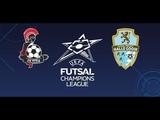 Лига Чемпионов. Группа А FK Vytis 2-5 FP Halle-Gooik