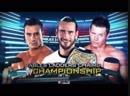 WWE Mania TLC 2011 CM Punk vs Alberto Del Rio vs The Miz Tables Ladders Chairs Match WWE Championship
