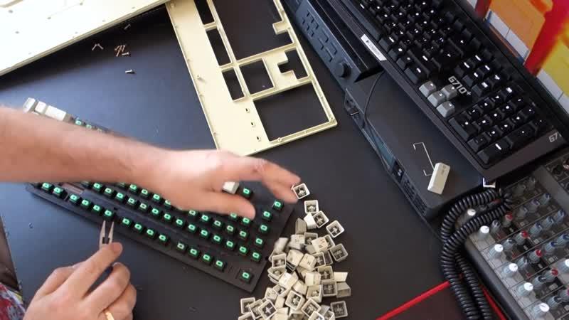 Восстановление древней XT клавиатуры