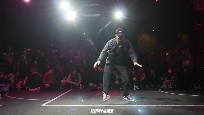 Hozin vs. Wooyeon - Round of 16 @AF1 DANCE BATTLE BATTLE IS OVER - SOLO EDITION