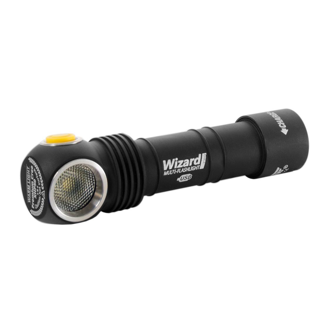 Wizard Pro Magnet USB XHP50 (белый свет)+18650 Li-Ion