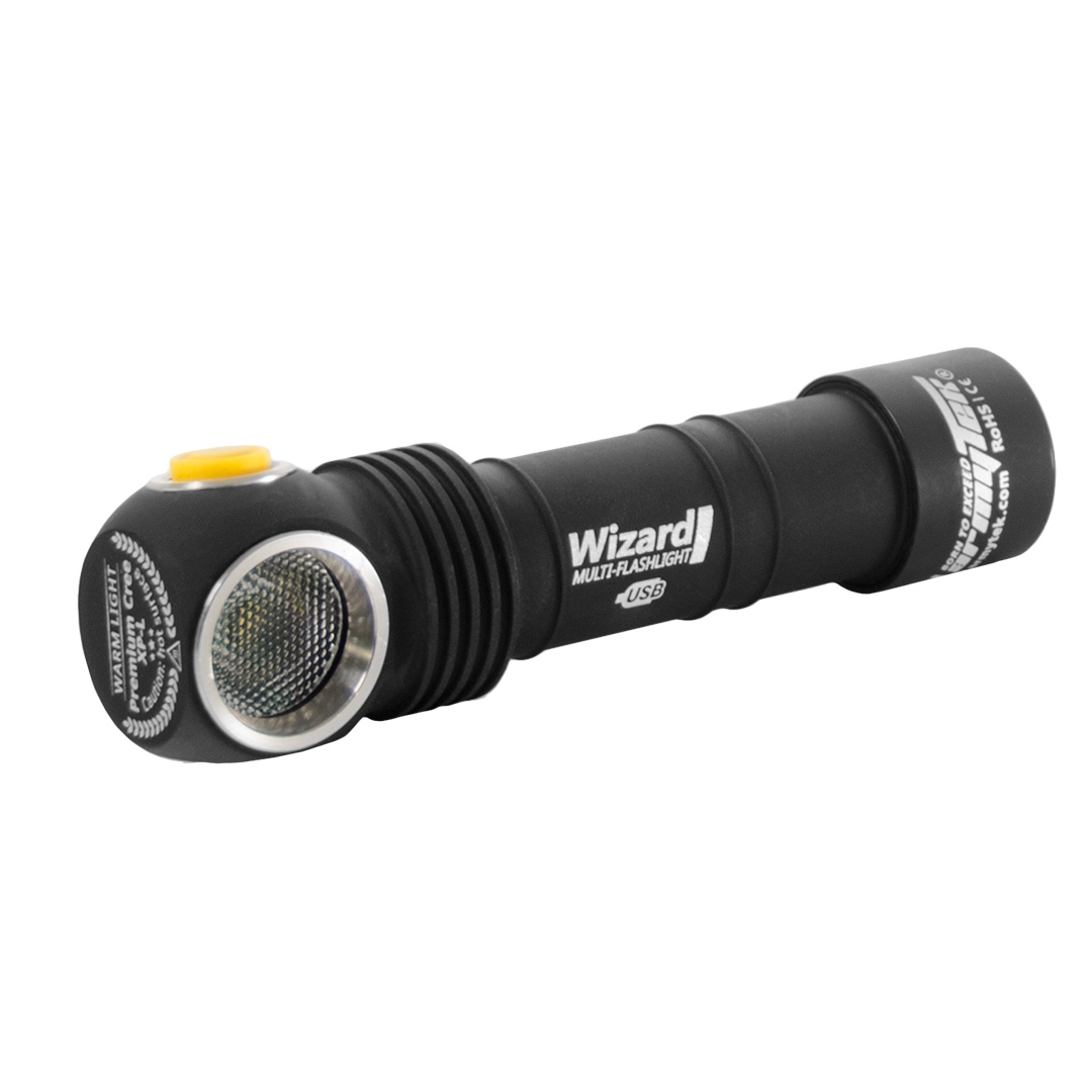 Wizard  Magnet USB XP-L (белый свет)+18650 Li-Ion
