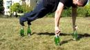 Отжимания на бутылках Workout