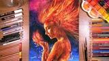 Drawing Jean Grey (X-Men Dark Phoenix) drawholic