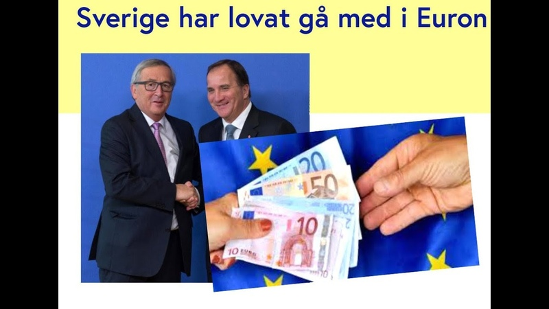 EU tvingar Sverige att införa euron - senast 2025