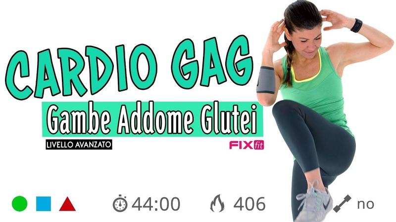 Cardio Gag Senza Salti! Allenamento Completo Con Esercizi Per Gambe, Addominali E Glutei