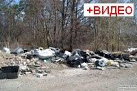 05мая 2018 - Самарская область: Стихийная свалка у села Васильевка
