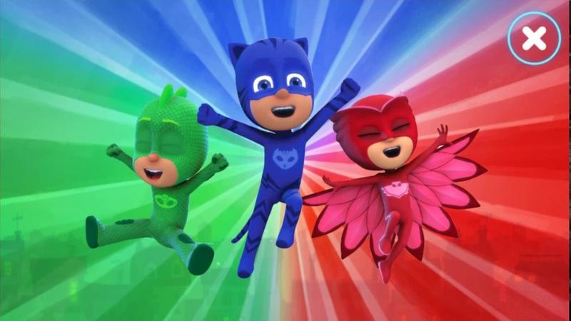 PJ Masks Moonlight Heroes 🎄 PJ Masks Episode 1 🎄 Game for kids
