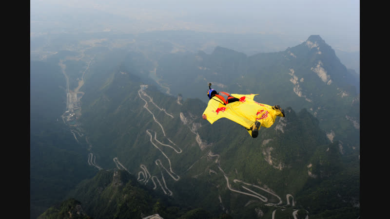 PEOPLE ARE AWESOME (WINGSUIT TERRAIN FLYING)
