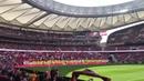 Atlético de Madrid Femenino 0-2 FC Barcelona. Así sonó el himno del Atleti en el Wanda Metropolitano