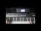 ВИА Сябры - Девушка из полесья - Yamaha PSR-S670 Style Ballad1-S670