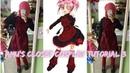 Hinamori Amu's closet - outfit 3- cosplay sewing tutorial