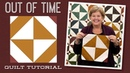 Make an Easy Out Of Time Hourglass Quilt with Jenny Doan of Missouri Star Video Tutorial