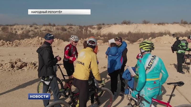 На велосипеде по жизни Под Евпаторией состоялась вело гонка