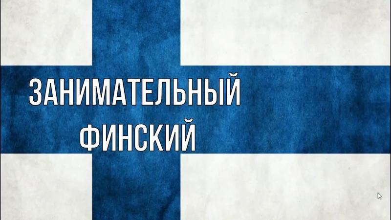 Типы слов в финском языке