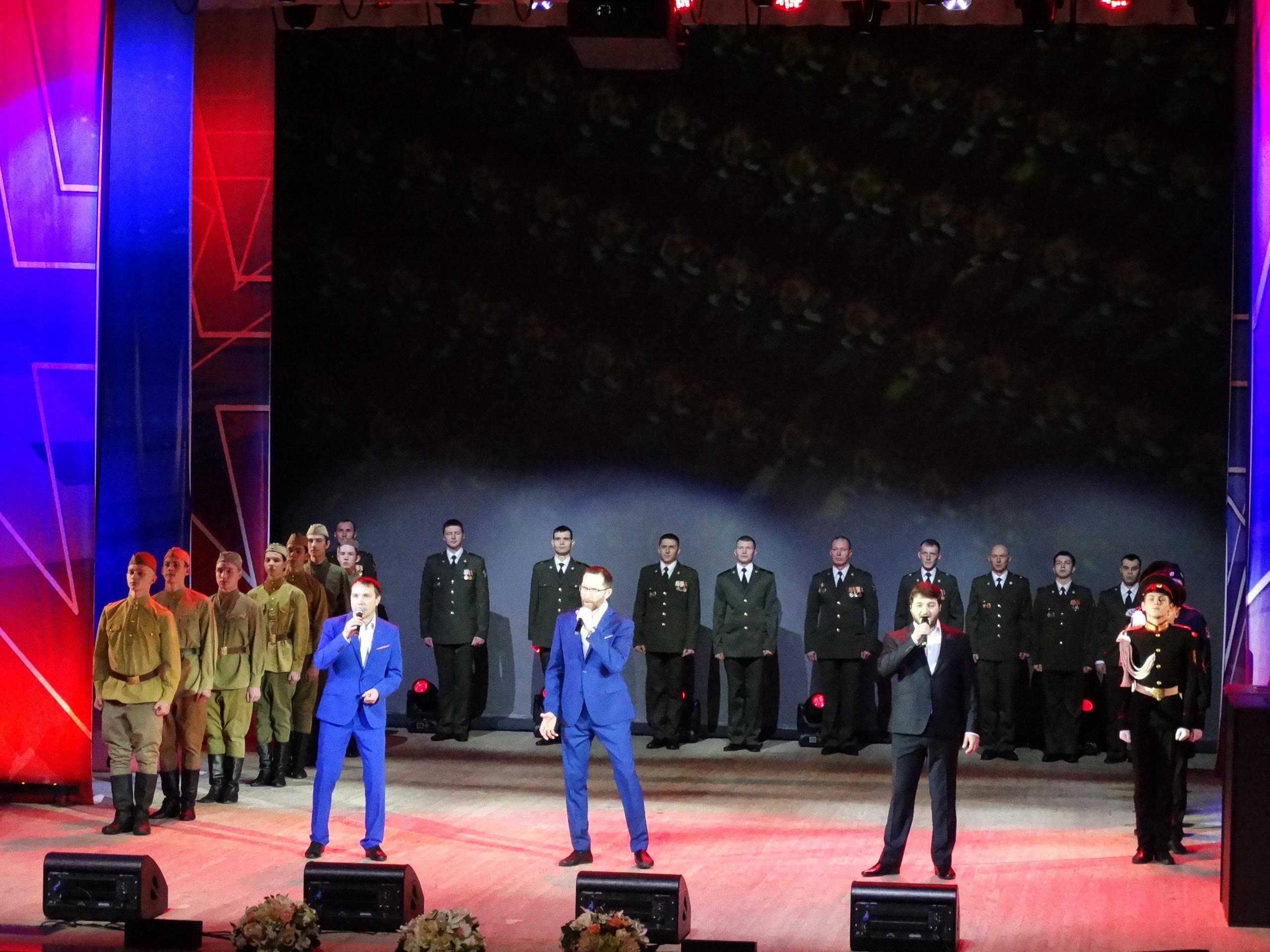 Торжественный вечер «Служить России»