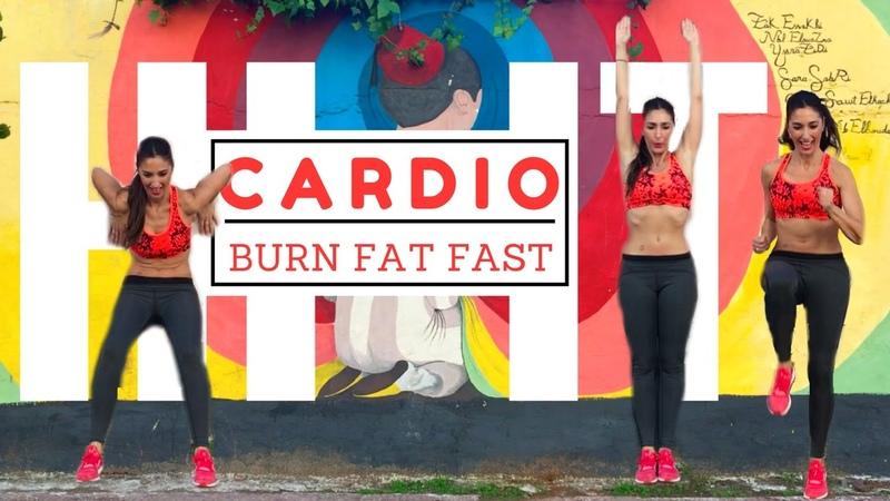 Fat Burning HIIT Workout 15 Minute Cardio Exercises