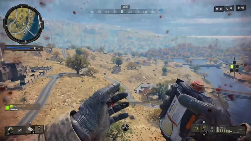Risking my life for bandage heal.....totally worth it. Black Ops 4