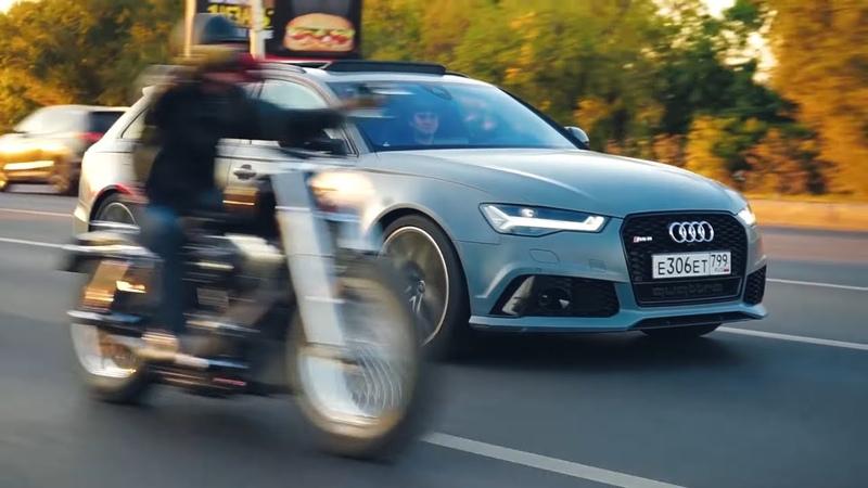 Деревенская AUDI ВЗБЕСИЛА NISSAN GT-R. БИТВА БЫСТРЫХ Skoda и Audi против НИССАН ГТР и AUDI RS6 !