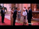 Royal families attend the Queen's Jubilee lunch