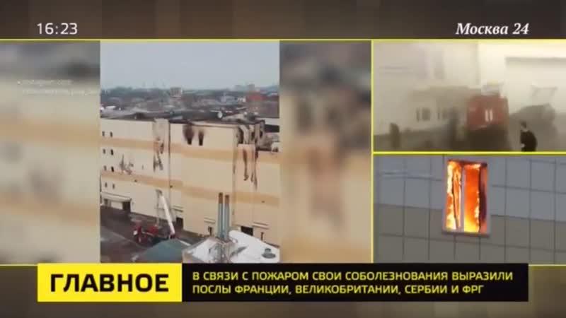 Власти Томской области подтвердили смерть на пожаре в Кемерове детей из Томска Москва 24