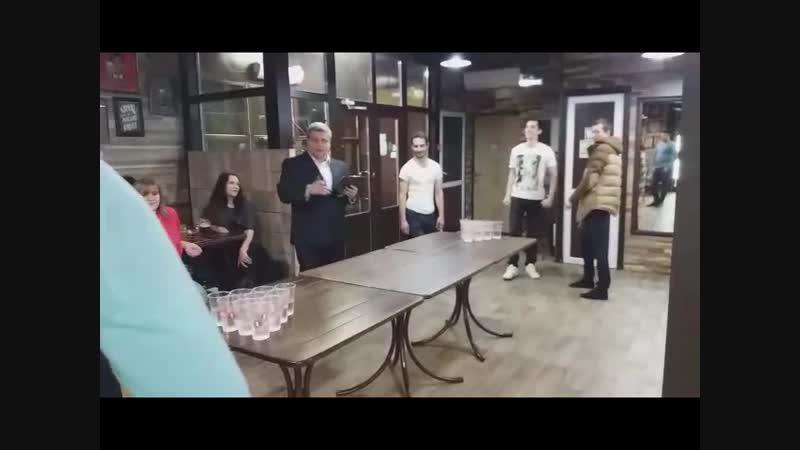 Мини-бирпонг (Кафе-бар «Dobra Znacka», 19.10.2018)