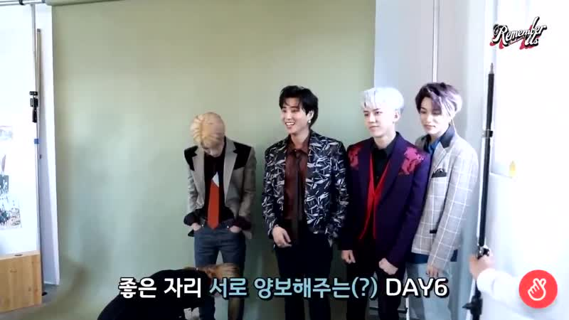 Every other group members are competing to be the center, meanwhile DAY6 - - We all hv cen