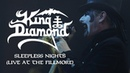 King Diamond Sleepless Nights (Live at The Fillmore) (OFFICIAL)
